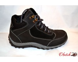 Ботинки подростковые-детские зимние кожаные Украина Uk0103