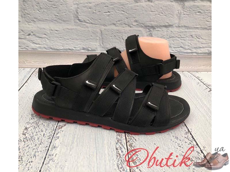 96a2b58e Obutik - Босоножки мужские Nike кожаные Ni0156. Качественная обувь ...