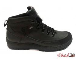 Ботинки мужские зимние Gore Tex Columbia Extrim кожа натуральная черные C0028-1