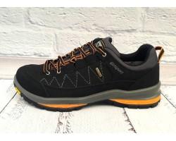 Ботинки мужские Grisport зимние кожа черные Uk0538