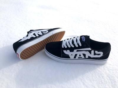 Кеды мужские подростковые Vans замшевые черные VA0004