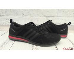 Кроссовки мужские Adidas Clima Cool верх комбинированный черные AD0034