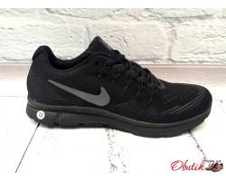 Кроссовки мужские Nike Zoom All Out сетка черные марсала NI0007
