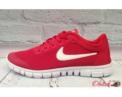 Кроссовки мужские Nike Air сетка черные красные Ni0051