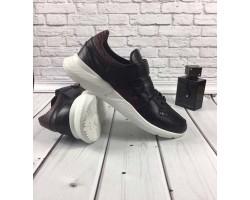 БЕСПЛАТНАЯ ДОСТАВКА! Модные мужские кроссовки 2019 GROSS кожа черные GR0039