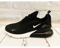 Кроссовки в сеточку мужские Nike черные Ni0165