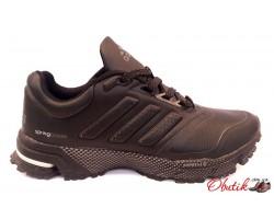 Кроссовки мужские Adidas Spring Blade осень-весна черные коричневые AD0066
