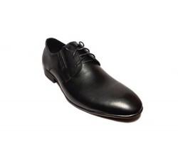 Туфли мужские классические экокожа черные Uk0153