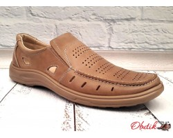 Мужские летние туфли Tigina кожа KF0368