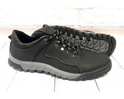 Мужские кожаные туфли Ecco закрытые черные E0050