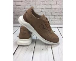Туфли мужские осенние GROSS кожаные коричневые GR0060