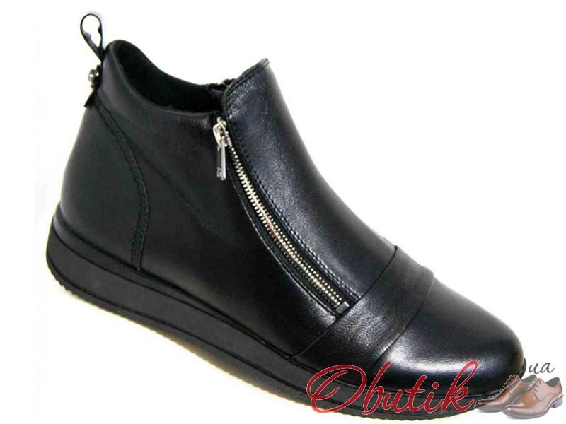 4b507fa76 Obutik - Кожаные ботинки женские весна 36-43 размеры черные MD0036 ...