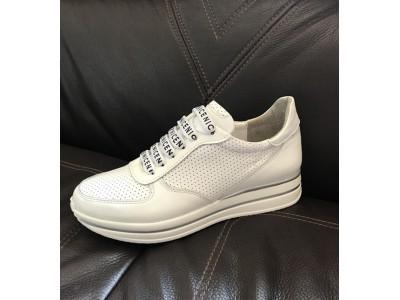 Белые кроссовки женские Sofis демисезонные кожа So0100