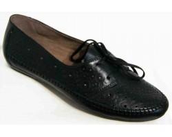 Мокасины женские кожаные 36-44 размеры черные бежевые MD0013
