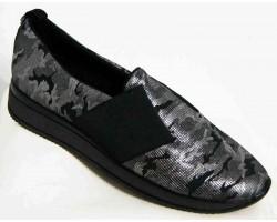 Слипоны женские кожаные замшевые 36-44 размеры MD0014