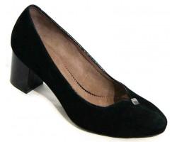 Туфли женские замшевые на каблучке 36-44 размеры MD0019