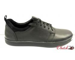 Слипоны-туфли мужские кожаные Vankristi VK0001