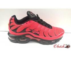 Кроссовки мужские Nike весна лето красные черные Ni0153