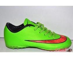 Кроссовки футбольные (сороконожки) подростковые фабричные Nike ORIGINAL NI0012