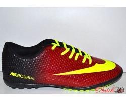 Кроссовки футбольные подростковые (сороконожки) фабричные NIKE Mercurial NI0018