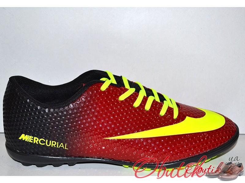 Кроссовки футбольные подростковые (сороконожки) фабричные NIKE Mercurial  NI0018 b037399c4d3
