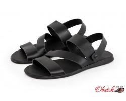 Летние мужские сандалии-трансформеры кожаные Uk0280