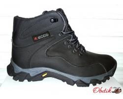Ботинки мужские зимние кожа T0006