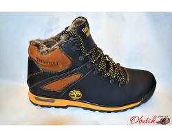 Ботинки мужские зимние Timberland кожа T0007