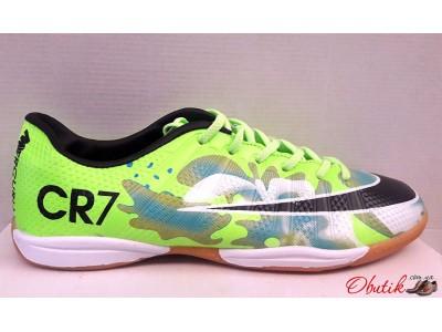Кроссовки футбольные - футзалки - футбольные бутсы - обувь для мини футбола  лимонные Nike NI0125 e0b7a588944