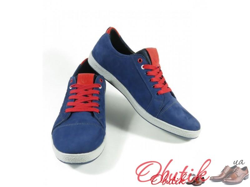 1add650e6b4e Obutik - Мужские туфли-кеды Tommy Hilfiger натуральный нубук синие ...