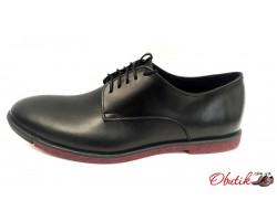 Туфли мужские кожаные замшевые Uk0471