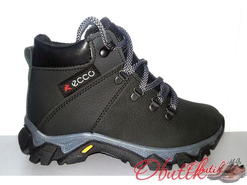 c3d250e081927d Obutik - Ботинки подростковые Ecco зимние кожаные E0023 ...