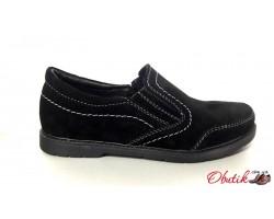 Туфли для подростков мальчиков из замши Braxton Br0005