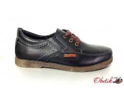 Туфли для подростков мальчиков кожаные Braxton Br0003