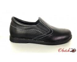 Туфли для подростков мальчиков кожаные Braxton Br0004