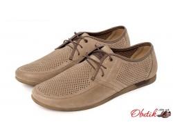Летние мужские туфли натуральные Affinity в разных цветах AF0014